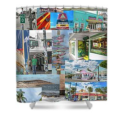 Florida Key West Collection Shower Curtain