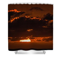 Florida Keys Sunrise Shower Curtain