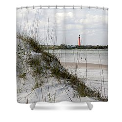 Florida Lighthouse Shower Curtain