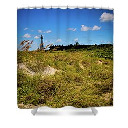 Florida Lighthouse  Shower Curtain by Kelly Wade