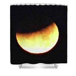 Florida Lunar Moon Eclipse 2018  Shower Curtain