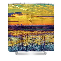 Florida Nature Paradise 2  Shower Curtain