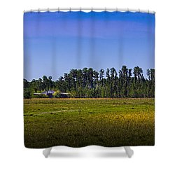 Florida Ranch Shower Curtain by Marvin Spates
