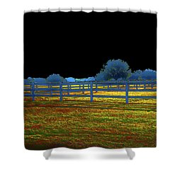 Florida Ranchland Shower Curtain