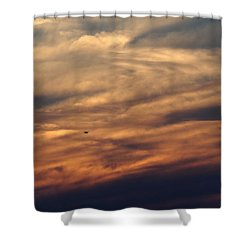 Florida Sunset 0052 Shower Curtain