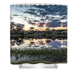 Florida Sunset Shower Curtain
