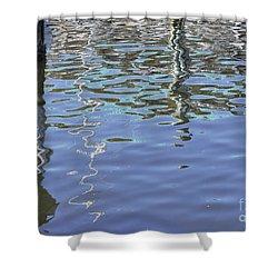 Floridian Watermark Shower Curtain