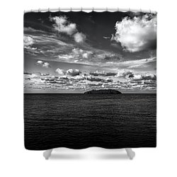 Shower Curtain featuring the photograph Floridian Waters by Jon Glaser