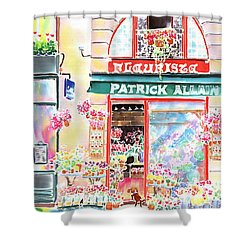 Florist In Ile St.louis Shower Curtain