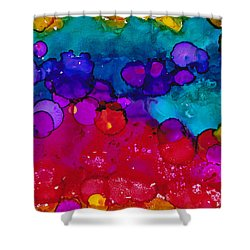 Flow 2 Shower Curtain by Angela Treat Lyon