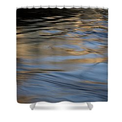Shower Curtain featuring the photograph Flow by Kenneth Campbell