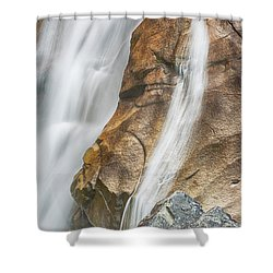 Shower Curtain featuring the photograph Flow by Stephen Stookey