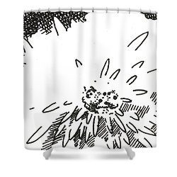 Flower 1 2015 Aceo Shower Curtain