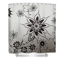 Flower 10 Shower Curtain