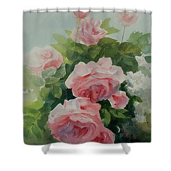 Flower 11 Shower Curtain by Helal Uddin