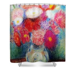 Flower Arrangement Shower Curtain