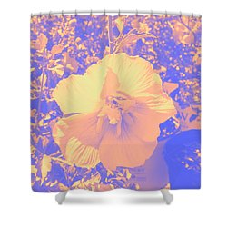 Flower Shower Curtain by Carolina Liechtenstein