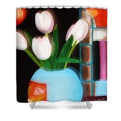 Flower Decor Shower Curtain