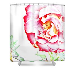 Flower Effect #2 Shower Curtain