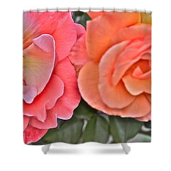 Flower Effect #4 Shower Curtain