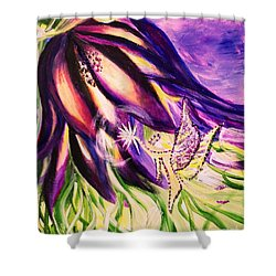 Flower Faerie Shower Curtain