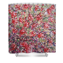 Flower Feelings. Shower Curtain