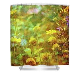 Flower Garden 1310 Idp_2 Shower Curtain