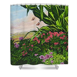 Flower Garden Vii Shower Curtain
