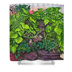 Flower Garden Viii Shower Curtain