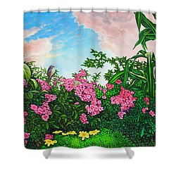 Flower Garden Xi Shower Curtain