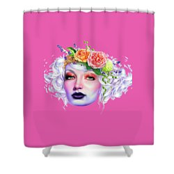 Flower Girl T-shirt Shower Curtain