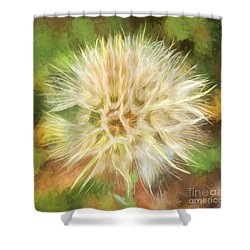 Flower Impressions Shower Curtain by Sharon Seaward