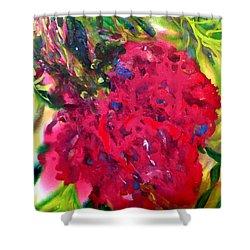 Flower In The Garden Shower Curtain