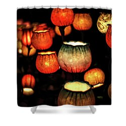 Flower Lamps Shower Curtain