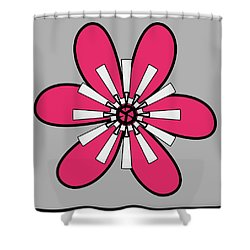 Flower Shower Curtain
