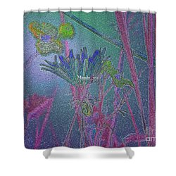 Flower Meadow Shower Curtain