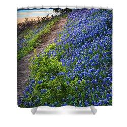 Flower Mound Shower Curtain