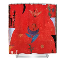 Flower Myth Shower Curtain by Paul Klee