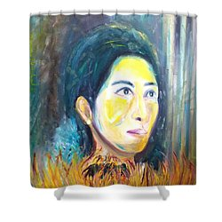Flower Of Sun Shower Curtain