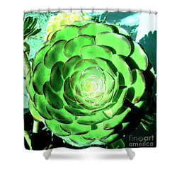 Flower Pattern Of Life Shower Curtain