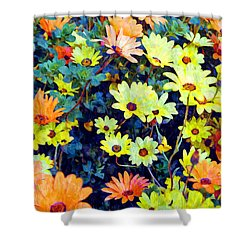 Shower Curtain featuring the photograph Flower Power by Glenn McCarthy Art and Photography