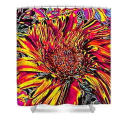 Flower Power II Shower Curtain