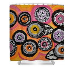Flower Series 10 Shower Curtain