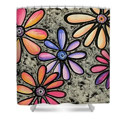 Flower Series 4 Shower Curtain