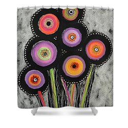 Flower Series 6 Shower Curtain
