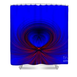 Shower Curtain featuring the photograph Flower Shape by Trena Mara