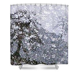 Flower Shower Shower Curtain