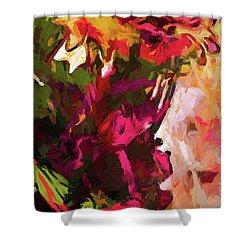 Flower Splash Shower Curtain