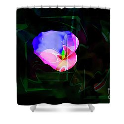 Shower Curtain featuring the photograph Flower Wower by Al Bourassa