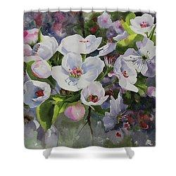 Flower_13 Shower Curtain